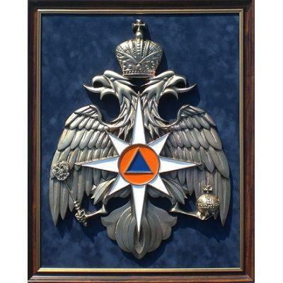 Купить Панно с символикой МЧС 45х56см в Москве