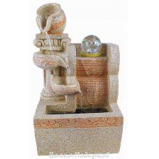 Фонтан настольный Античные кувшины высота 26 см, подсветка