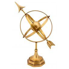 Глобус настольный декоратиный металл 40см