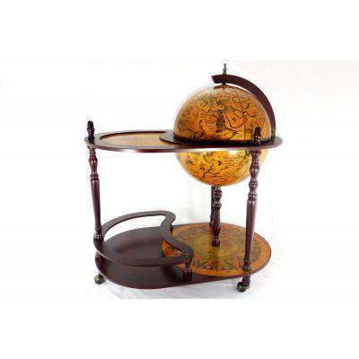 Купить Глобус бар со столиком, диаметр сферы 42см в Москве