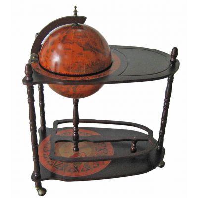 Купить Глобус бар со столиком, диаметр сферы 33см в Москве