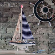 """Модель """"Яхта"""",высота 59 см"""