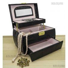 Шкатулка для ювелирных украшений Valise 058Black