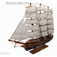 Модель корабля FRAGATA SIGLO XVIII, 50см, дерево