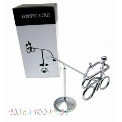Купить маятник Велосипедист 16 см  в Москве