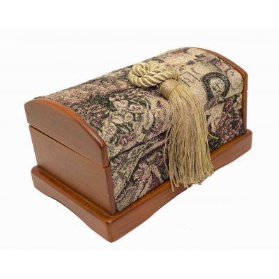 Купить Шкатулка деревянная с гобеленом в Москве