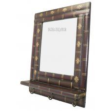 Зеркало кабинетное с вешалками  Стопка книга