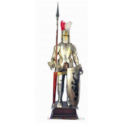 Купить Рыцарь напольный  с копьем и щитом в Москве