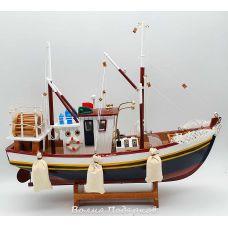 Модель рыбацкой шхуны, 40см
