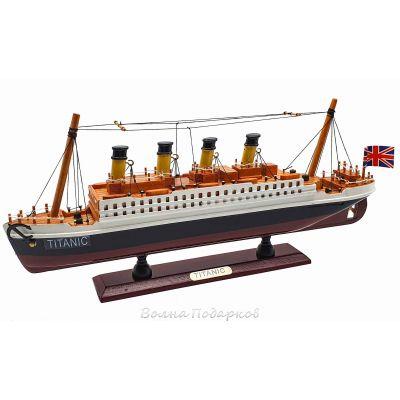 Купить Модель корабля Титаник (дерево) 35см в Москве
