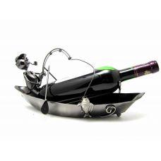 """Подставка под бутылку """"Рыбак в лодке"""""""