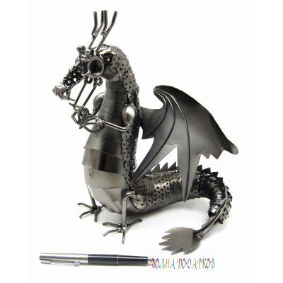 Купить Статуэтка Металлический Дракон в Москве