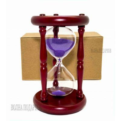 Купить Часы песочные 15 минут  песок,высота 19 см. в Москве