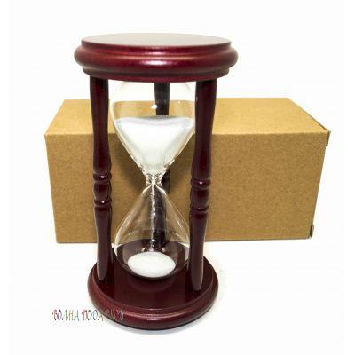 Купить Часы песочные 5 минут  белый  песок в Москве