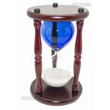 Часы песочные ЦВЕТНОЕ СТЕКЛО  на 30 минут, высота 25 см.