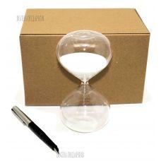 Песочные часы на 10 минут, белый песок