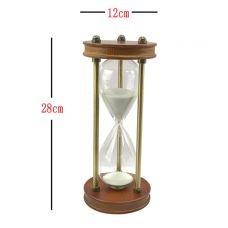 Песочные часы на 30 минут,высота 28см