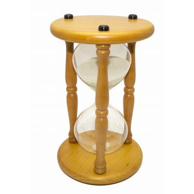 Купить Часы песочные 30 минут белый песок в Москве
