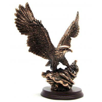 """Купить статуэтка """"Орел на флаге""""  25см в Москве"""