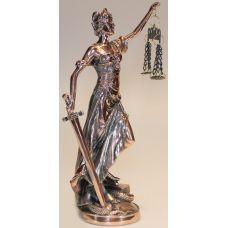 Статуэтка богиня  правосудия Фемида,32 см