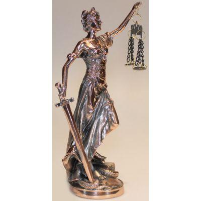 Купить Статуэтка богиня  правосудия Фемида,32 см в Москве