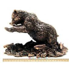 Статуэтка Медведь - рыбак