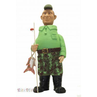 Купить Фигурка релаксант Рыбак с удочкой 32см в Москве