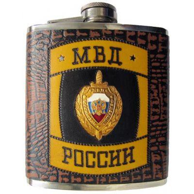 Купить Оригинальная фляжка «МВД России» в Москве