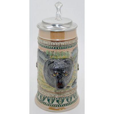 Купить Пивная кружка «Медведь» с крышкой в Москве