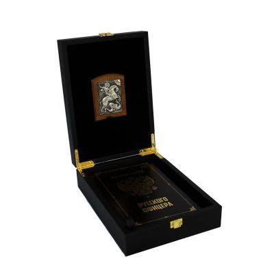 Купить Подарочный набор Кодекс чести русского офицера с иконой св. Георгий Победоносец в Москве