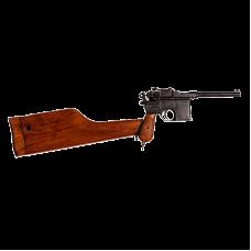 Немецкий пистолет Маузер 1896 года с прикладом-кабурой