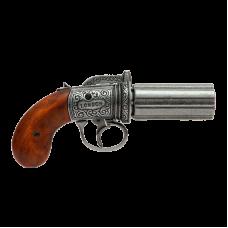 Револьвер  Пепербокс  6 стволов, Англия, 1840 г
