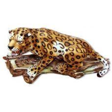 Керамическая статуэтка Леопард крадущийся