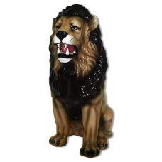 Керамическая статуэтка Лев