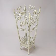 Зонтовница  Пики , цвет - белый с золотом