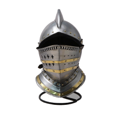 Шлем рыцарский Бургонет