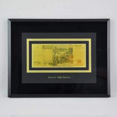 Картина с банкнотой 5000 руб.