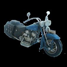 Модель мотоцикла Harley Davidson синий