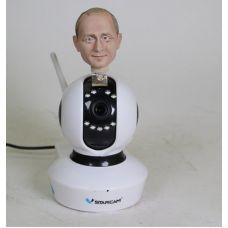 Поворотная HD камера 720 с портретной головой по фото