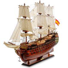 SP-09 Модель испанского линейного корабля 1784г.