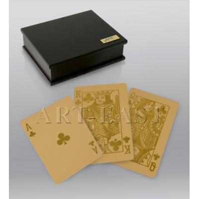 Купить HB-018 Золотые игральные карты в Москве