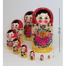 МР-10/12 Матрешка 10-кукольна я Б (Семеновская)