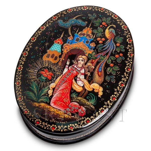 "Шкатулка Холуй ""Аленький цветок"", Орлова от 5 380 руб"