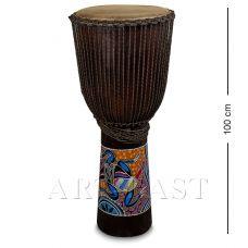 55-007 Барабан Джембе роспись 100 см
