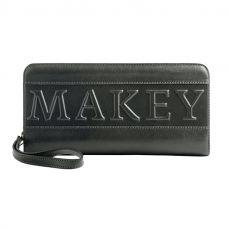 Портмоне «Makey forever!». Цвет черный