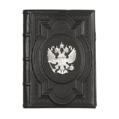 Купить Ежедневник А5 «Держава» с посеребренным орлом в Москве
