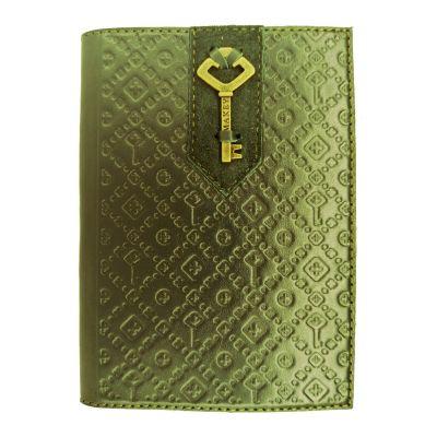 Купить Обложка на паспорт | Ключ | Зеленый в Москве
