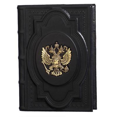 Купить Ежедневник А5 «Держава» с латунным орлом в Москве