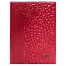 Ежедневник А5 «Bubbles». Цвет красный