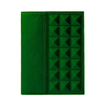 Купить Обложка на паспорт | Геометрия | Зеленый в Москве